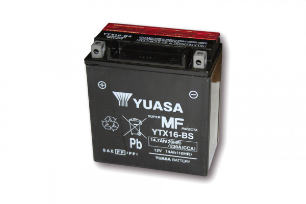 [291-216] Battery YTX 16-BS maintenance free