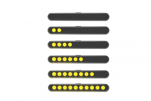 [204-101] Sekvens-blinkers modul STRIPE-RUN, tonat glas
