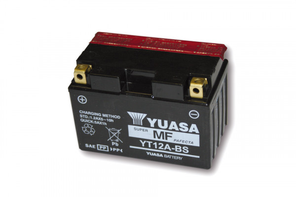 [291-211] Battery YT 12A-BS maintenance free