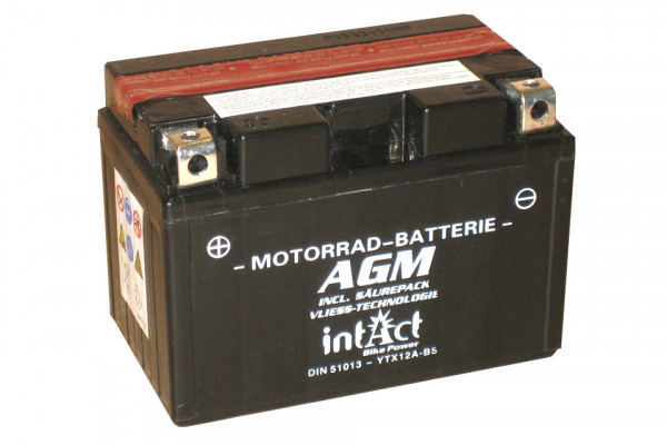 [297-211] Bike Power battery YTX12A-BS incl. acid-pac