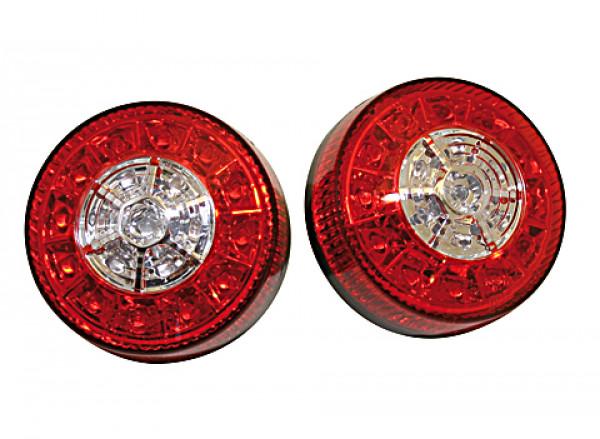 [254-030] LED blinkers-, bak-, bromsljuskombination för ATV, svart