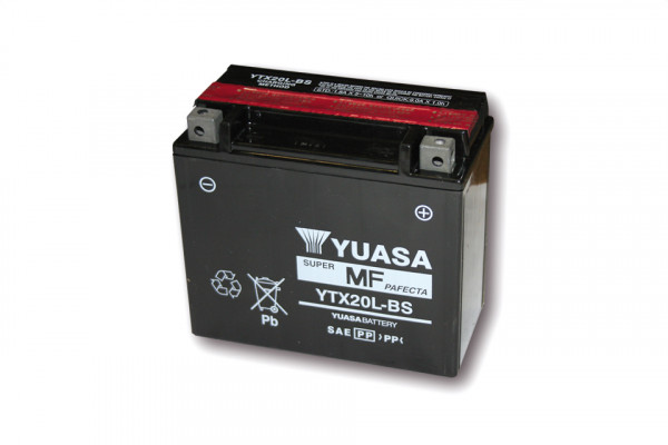 [291-218] Battery YTX 20L-BS maintenance free