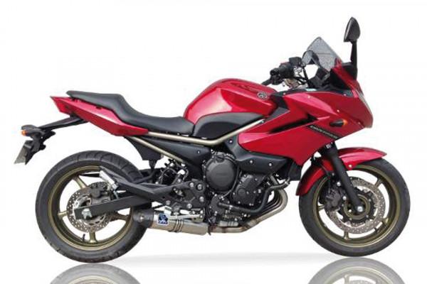 [072-955] HEXOVAL XTREM Evolution helsystem i Rostfritt till Yamaha XJ 6 år 09, svart Endcap