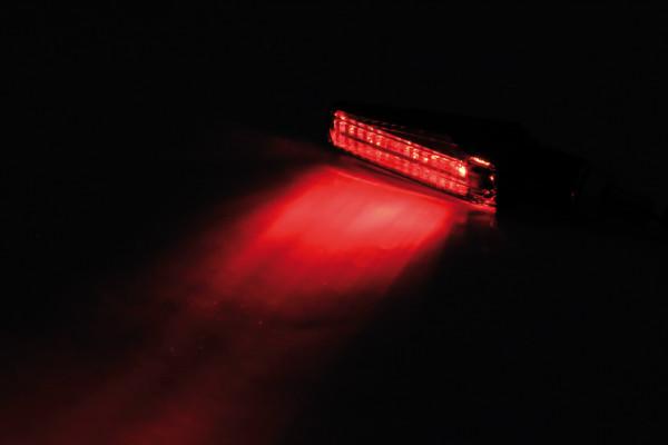[254-174] LED bakljus/blinkers FINELINE, tonat glas