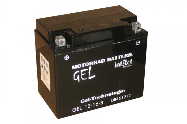 [299-087] Bike Power batteri GEL YB16-B
