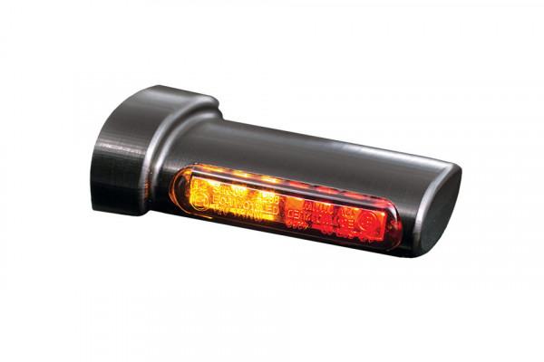 [203-694V4] Winglets 3in1 LED blinkers-, bak- och bromsljuskombination, alla H-D modeller 93-