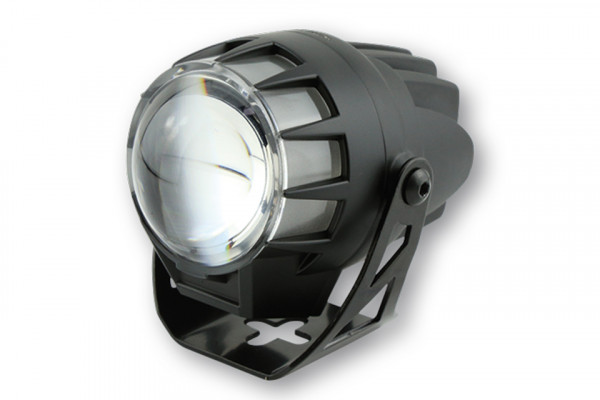 [223-454] LED strålkastare DUAL-STREAM, svart, linsdiameter 45 mm, E-märkt