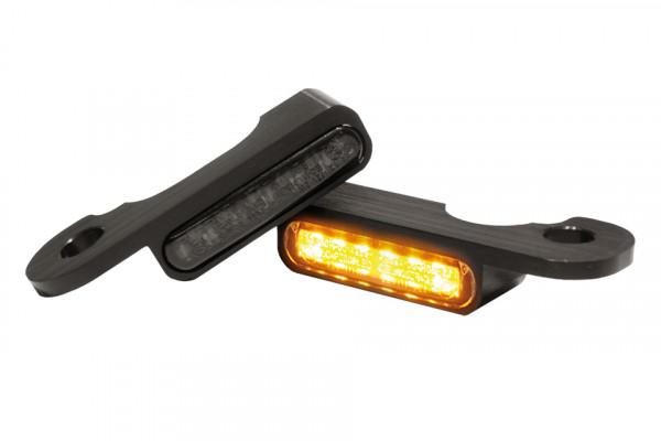 [203-692V1] LED blinkers TOURING modeller med hydraulisk koppling, svart