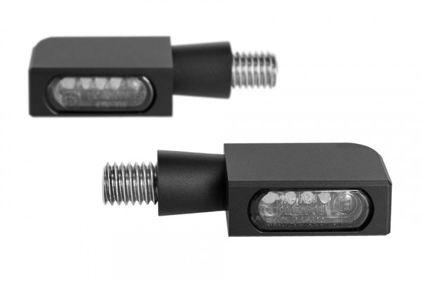 [203-6987] BLOKK-Line Series MICRO SMD Turn Signal, Multifit all makes and models, black