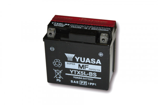 [291-217] Battery YTX 5L-BS maintenance free