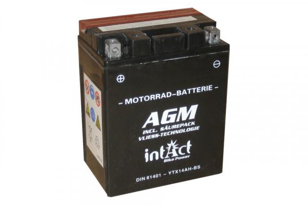 [297-224] Bike Power battery YTX14AH-BS incl. acid-pac