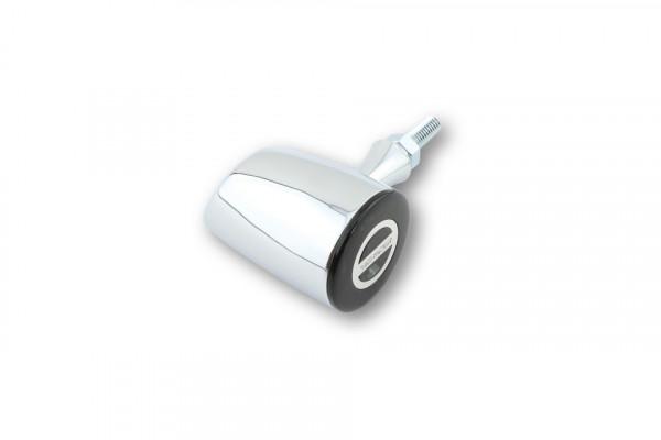 [254-343] ROCKET CLASSIC LED rear light, brake light, indicator unit, chrome