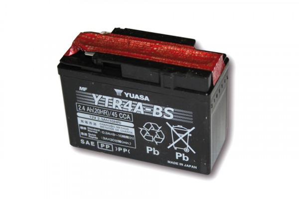 [291-203] Battery YTR 4A-BS maintenance free