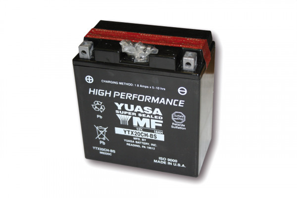 [291-220] Battery YTX 20 CH-BS maintenance free
