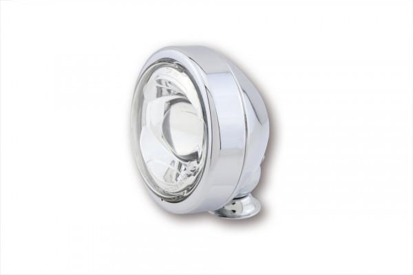 [223-459] 4 tum LED-halvljusstrålkastare, krom