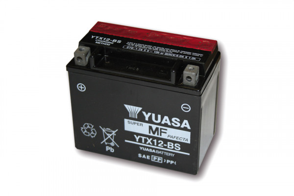[291-212] Battery YTX 12-BS maintenance free