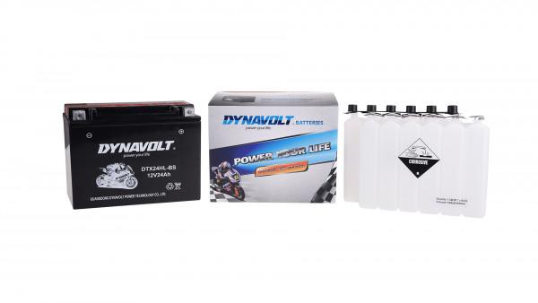 [297-227-1] Batteri DTX24HL-BS med syrapack