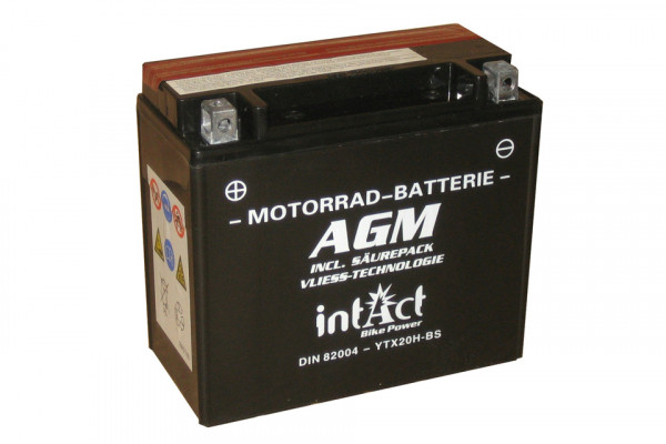 [297-228] Bike Power battery YTX20H-BS incl. acid-pac