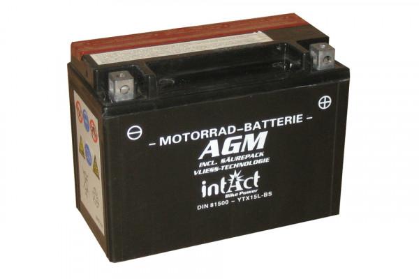 [297-215] Bike Power battery YTX15L-BS incl. acid-pac