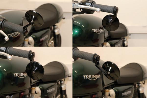 Universal Motorrad Lenker 7//822mm Schwarz